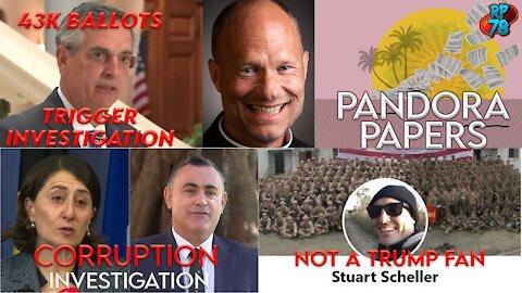 43,000 GA Ballots Under Investigation, Stu Attacks POTUS, NSW Corruption