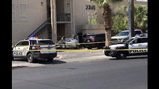 Crash in Las Vegas sends 3 people to hospital
