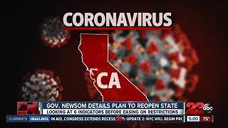 GOV. NEWSOM DETAILS PLAN TO REOPEN STATE