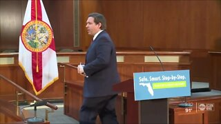 Looking at Governor Ron DeSantis' messaging during pandemic
