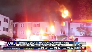 3 dead after apartment fire in Edgewood