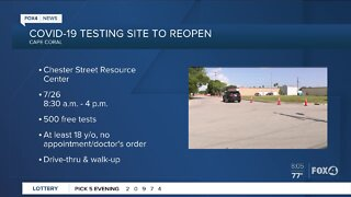 COVID-19 testing site in Cape Coral reopens