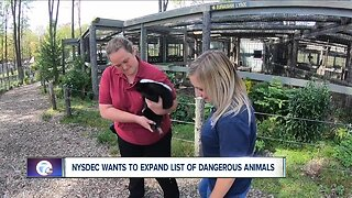 NYS wants to expand it dangerous animals list.