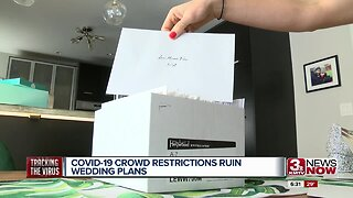 COVID-19 crowd restrictions ruin wedding plans