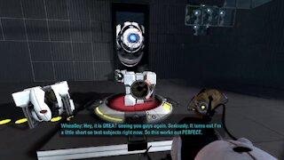 Zatzu Replays Portal 2 Episode 9 - It Says TEST