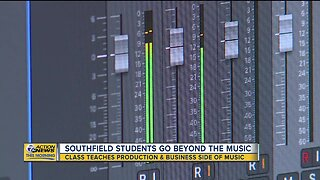 Southfield students go beyond the music
