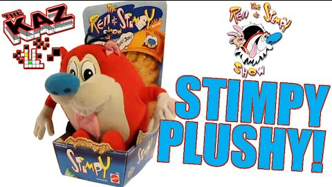Stimpy Plush Toy