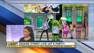 Sesame Street Live! brings your favorite characters to Detroit