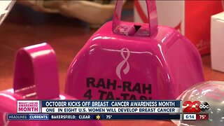 Kicking off Breast Cancer Awareness Month