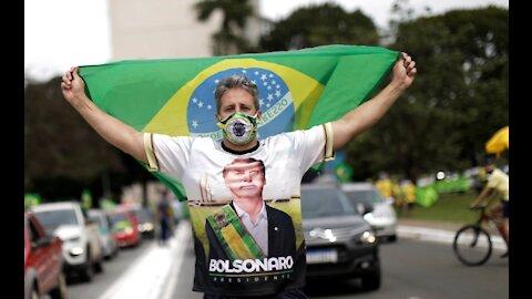 Brasile: proteste anti lockdown e PRO Bolsonaro