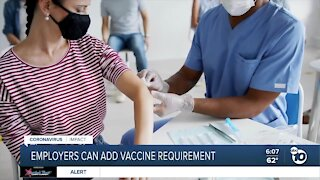 Employers can require workers to be vaccinated