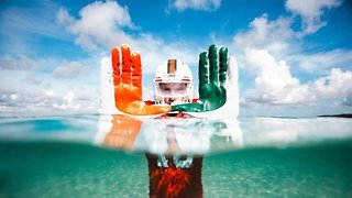 Miami Football Team To Wear Uniforms Made With Recycled Ocean Waste