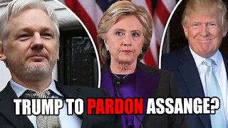 Trump to Pardon Julian Assange?