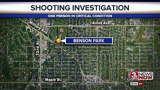 Omaha Police investigate Benson Park shooting