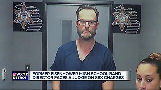 Arraignment today for Eisenhower High band director charged with sex crimes against children