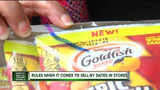 Rules when it comes to sell-by dates in stores