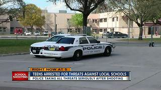 Two Tampa students arrested, charged with making false threats against schools