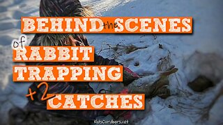 S2:E5 Behind the Scenes of Rabbit Trapping PLUS 2 Catches! | Kids Outdoors