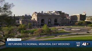 Returning to normal: Memorial Day weekend