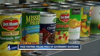 Food Pantry worried about mounting demand amid shutdown
