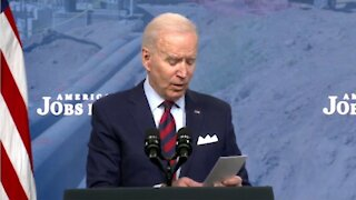 Joe Biden Can't Remember Simple Talking Points About Taxes, Reads from Notes During Speech