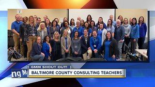 Good morning from Baltimore County's Consulting Teachers!