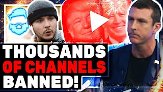 Tim Pool In HUGE Trouble With New Youtube Change! Steven Crowder & Mark Dice Too!