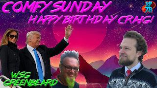 Happy Birthday Craig with Greenbeard on Comfy Sunday