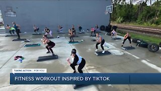 Fitness Workout Inspired By TikTok
