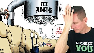 The FED is Printing Money and TAXES Will Go Up!