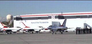 Thunderbirds to thank frontline workers with Vegas hospital flyover Saturday