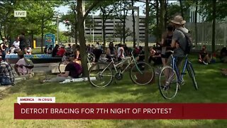 Detroit bracing for seventh night of protests