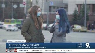 Tucson Mask Share helps spread masks through community