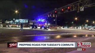Cold temperatures could impact Tuesday's morning commute