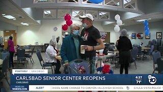 Carlsbad Senior Center Reopens