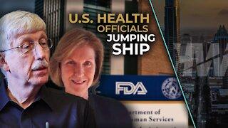 U.S. HEALTH OFFICIALS JUMPING SHIP