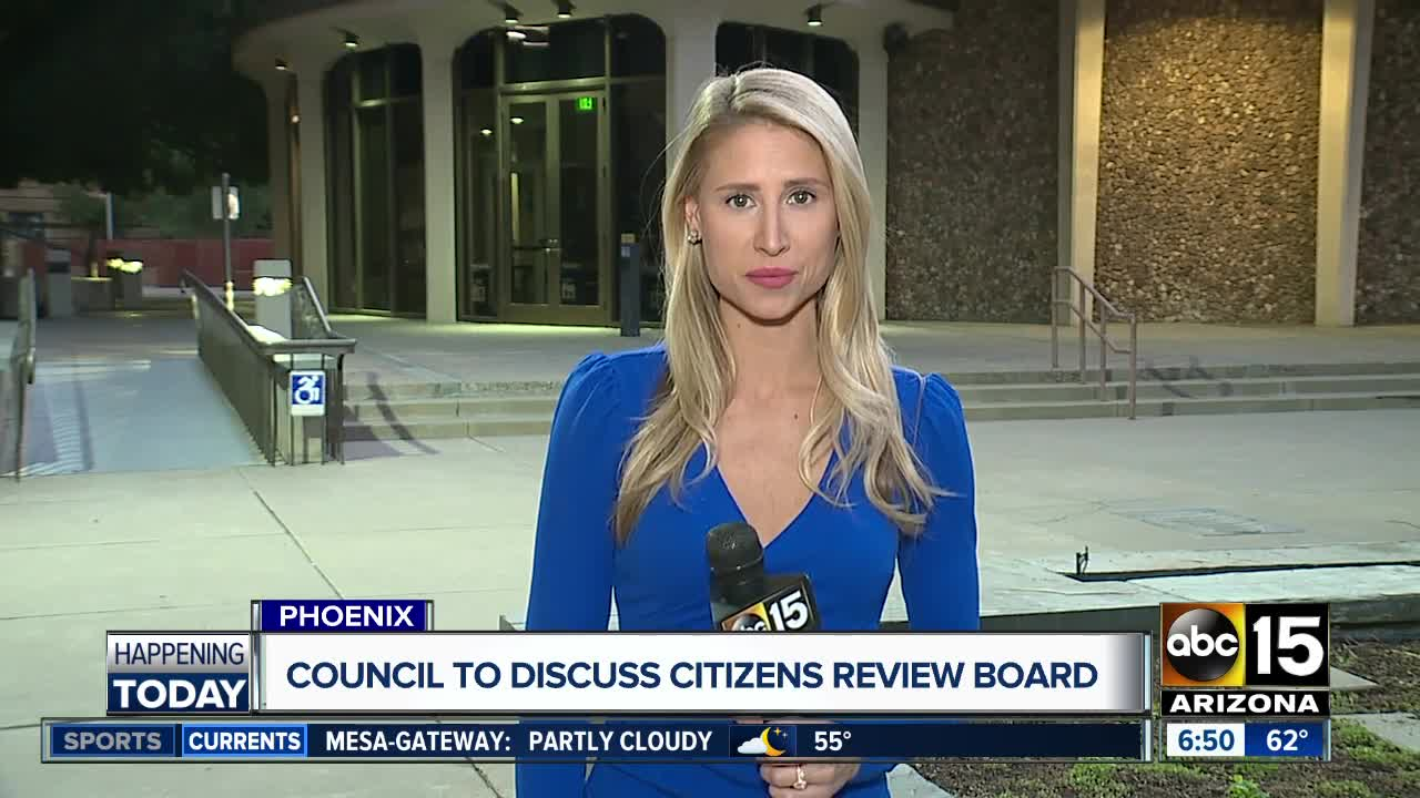 Citizens review board being discussed by city council