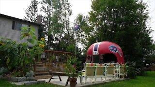 """Parnham family raises the """"bar"""" for ultimate backyard set-up"""