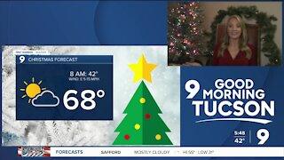 Chilly Christmas Eve, warmer Christmas day