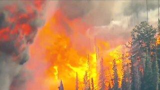 Several wildfires burning across Colorado Friday