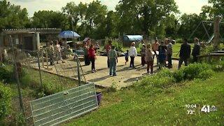 Urban farm plants seeds of community in North Blue Ridge