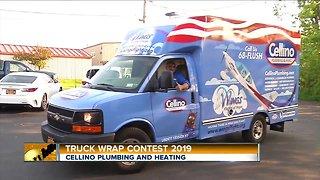 Cellino Plumbing Truck Wrap Contest