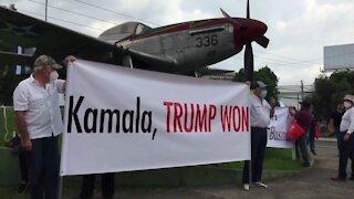 Guatemalan Protestors Greet Kamala Harris with BRUTAL Messages