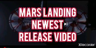 NEWEST VIDEO FROM ROVER LANDING ON MARS