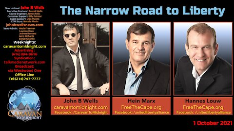 U.L.A. Special Report - The Narrow Road To Liberty - Interviews with Hein Marx and Hannes Louw.