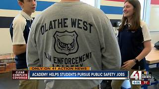 Olathe program prepares next generation of first responders