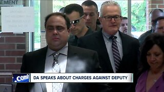 DA speaks about charges against deputy