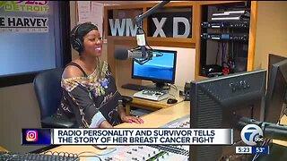 Mix 92.3's Cheron Sanders raising breast cancer awareness at Sista Strut 2019