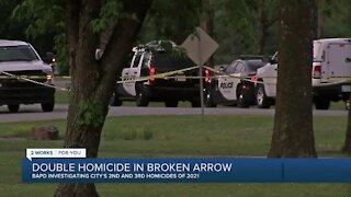 Authorities investigate homicide in Broken Arrow
