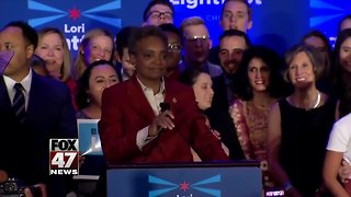 Chicago elects first African-American female mayor